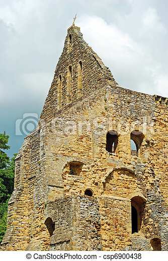 La iglesia arruina la batalla de la abadía Inglaterra - csp6900438