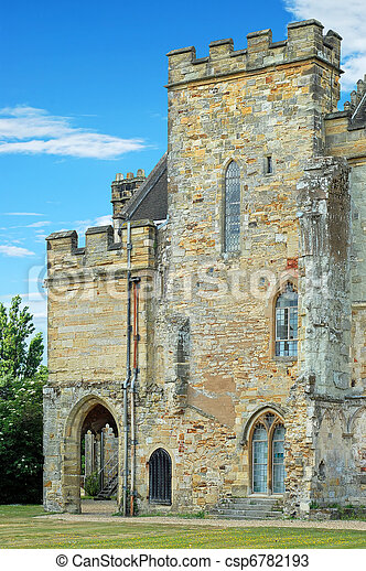 Torre Battle Abbey - csp6782193