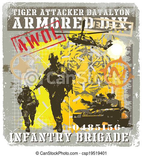 batalyon infantry attacker - csp19519401