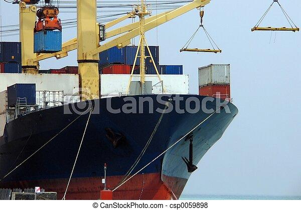 bateau, closeup - csp0059898