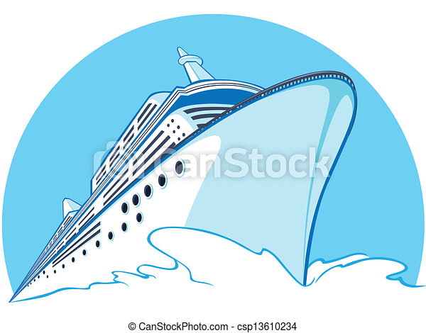 bateau croisière - csp13610234