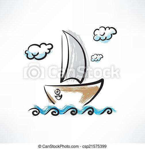 bateau - csp21575399
