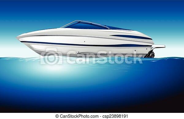 bateau - csp23898191