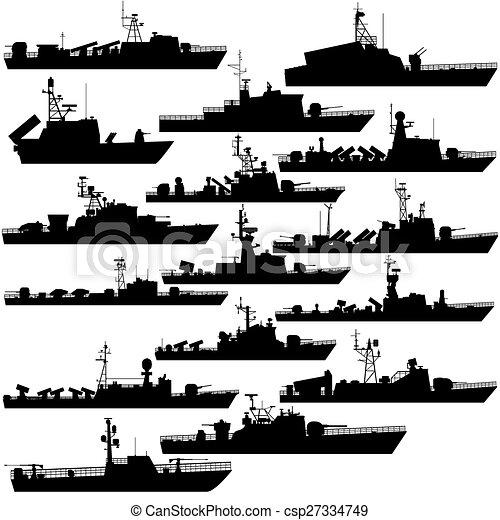 Bateau Missile Illustration Missile Arriere Plan Contours Blanc Navires Guerre Boats Canstock