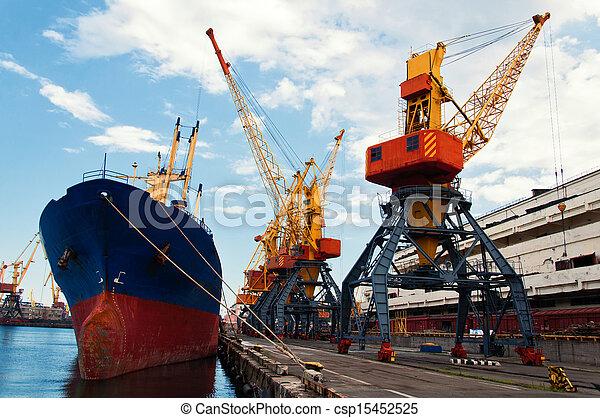 bateau, port - csp15452525
