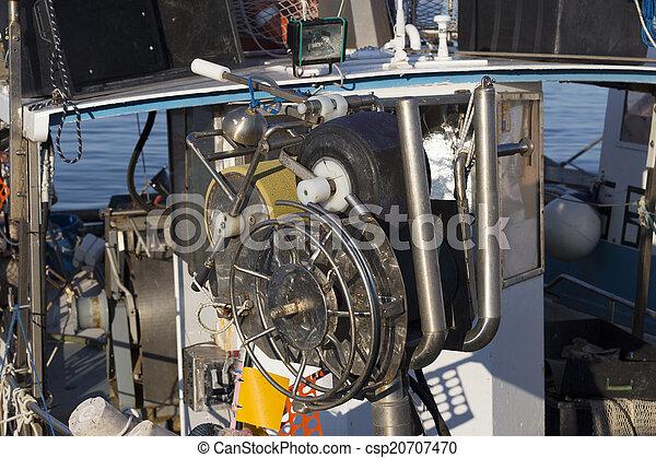 bateaux, port, peche - csp20707470
