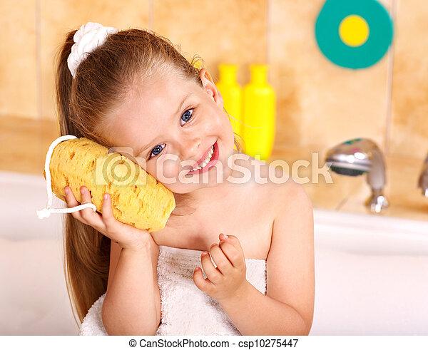 bath., lavaggio, capretto - csp10275447