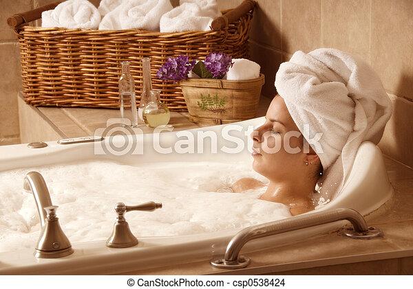 Bath time - csp0538424