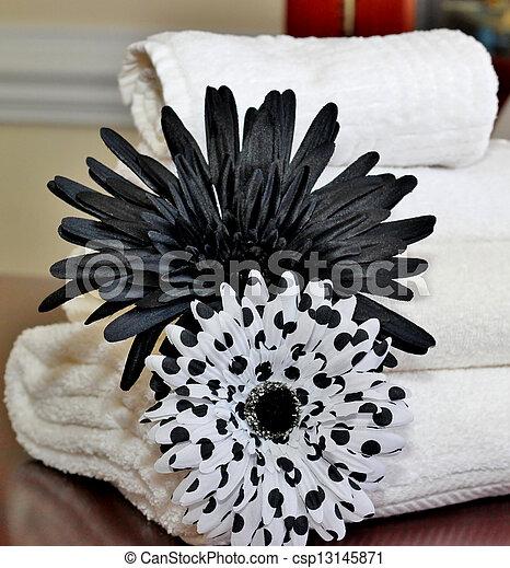 Bath towels - csp13145871