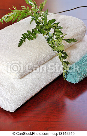 Bath towels - csp13145840