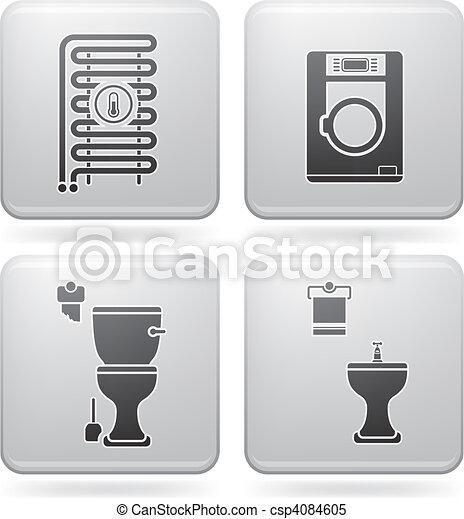 Bathroom Appliances - csp4084605