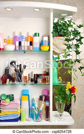 bathroom shelf - csp6254728