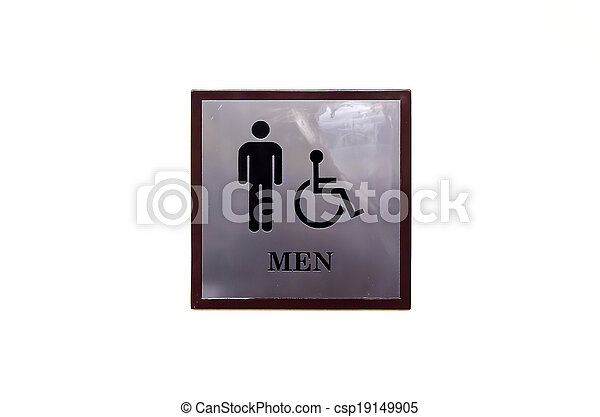 Bathroom signs - csp19149905