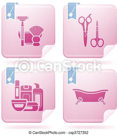 Bathroom utensils - csp3727352