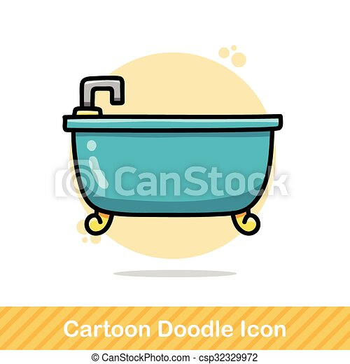 bathtub doodle vectors illustration search clipart drawings and rh canstockphoto com bathtub images clip art clipart pictures of a bathtub