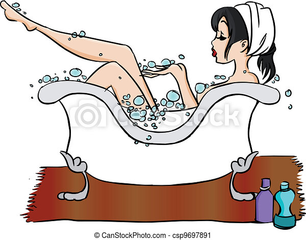 Bathtub - csp9697891