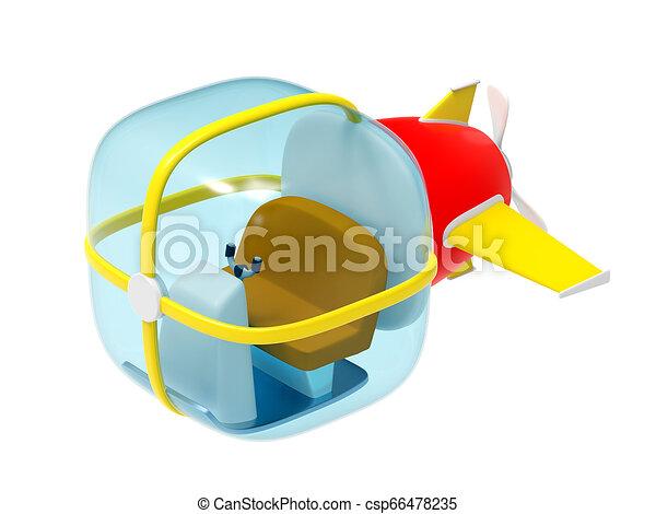 bathyscaphe little modern - csp66478235