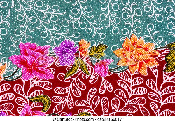malaysian and indonesian batik pattern clipart search