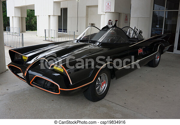 Batmobile - csp19834916