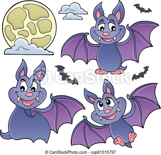 Bats theme collection 1 - csp61015797