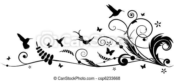 batterflies, colibrí - csp6233668