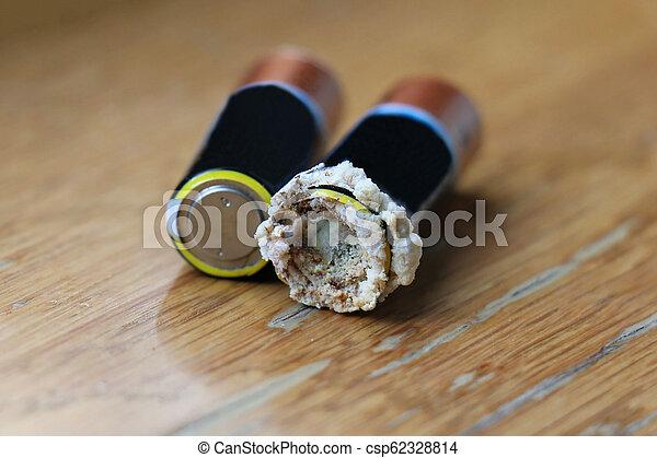 batteria, leakage, li-ion - csp62328814