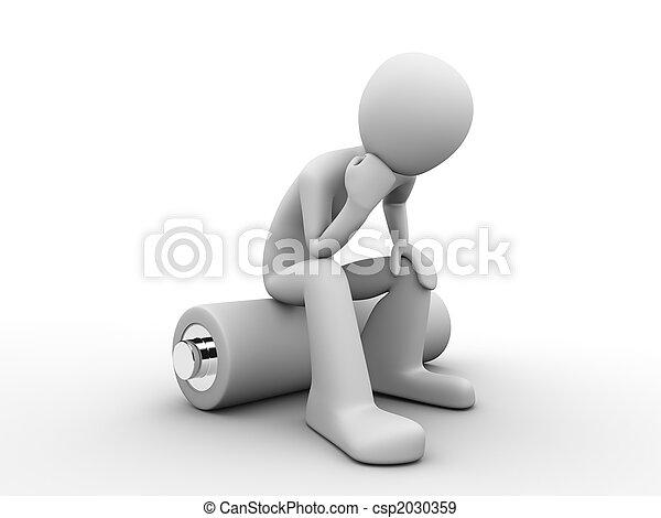 batterie, séance homme - csp2030359
