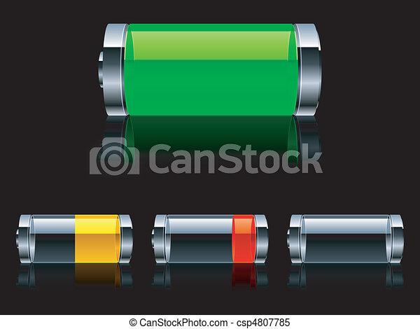 Batteries. - csp4807785