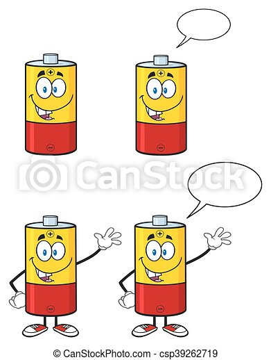 Battery Character Collection - 1 - csp39262719