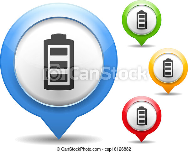 Battery Icon - csp16126882