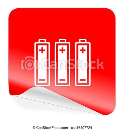 battery icon - csp16407724