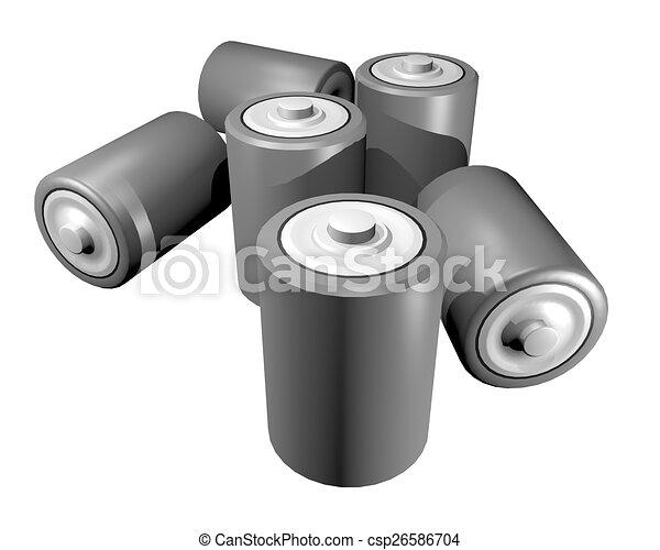 Battery render - csp26586704
