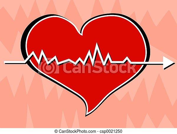 battito cardiaco - csp0021250