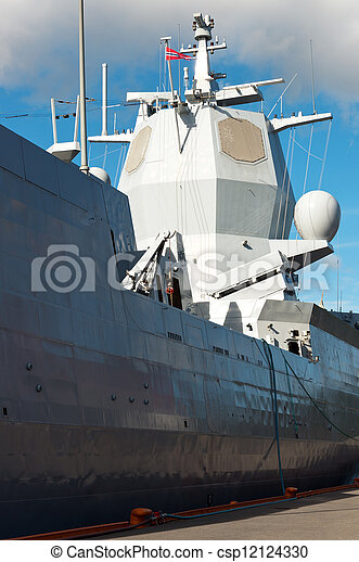Battle ship - csp12124330