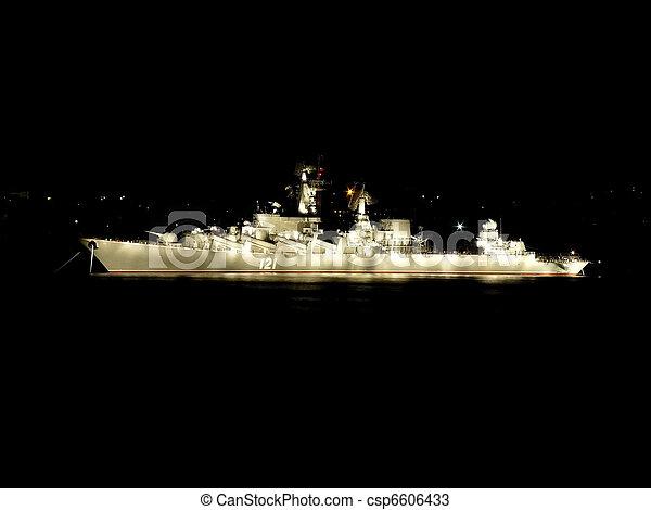 Battle ship - csp6606433