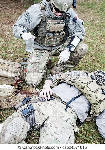 Battlefield medicine - csp24571015