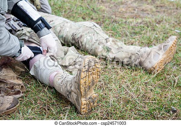 Battlefield medicine - csp24571003