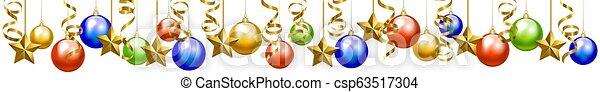 baubles natal - csp63517304