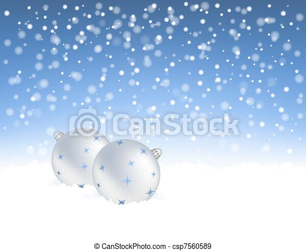 baubles natal - csp7560589