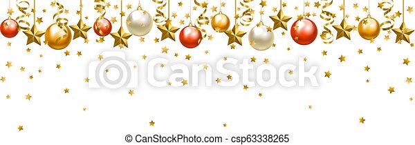 baubles natal - csp63338265