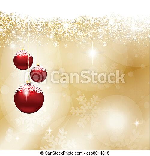 baubles natal - csp8014618