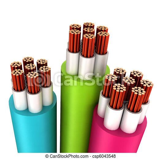 Baugewerbe, elektrisch, kabel. Weißes, baugewerbe,... Stock ...