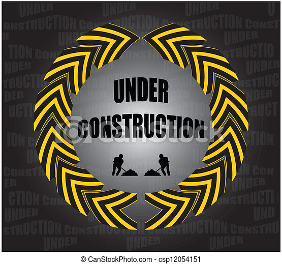 Bauarbeiten - csp12054151