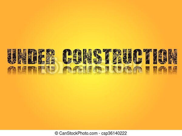 Bauarbeiten - csp36140222