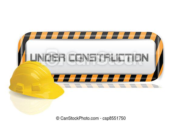 Unter dem Bau - csp8551750