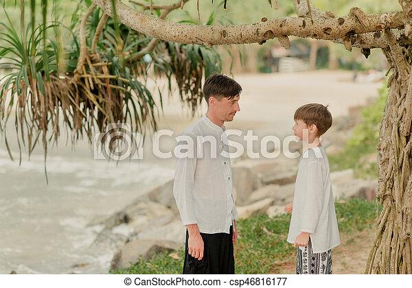 Indien Sommer Sohn