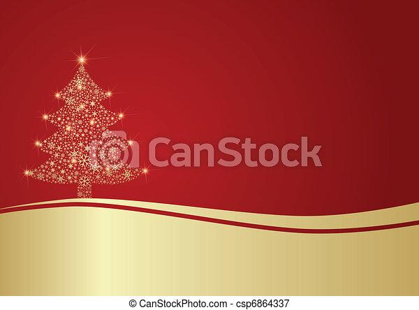 baum, weihnachten - csp6864337