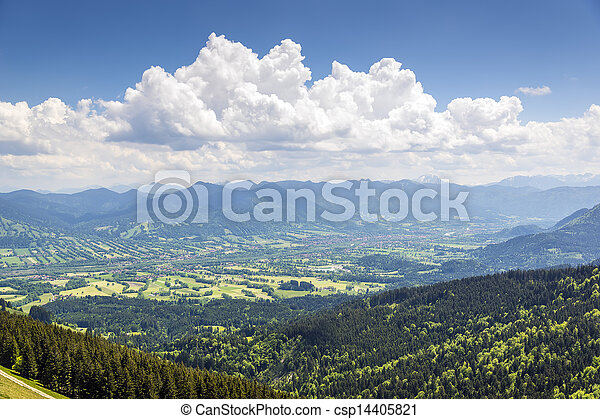 Bavaria alps - csp14405821