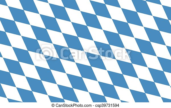 Bavaria and Oktoberfest flag pattern or background - csp39731594
