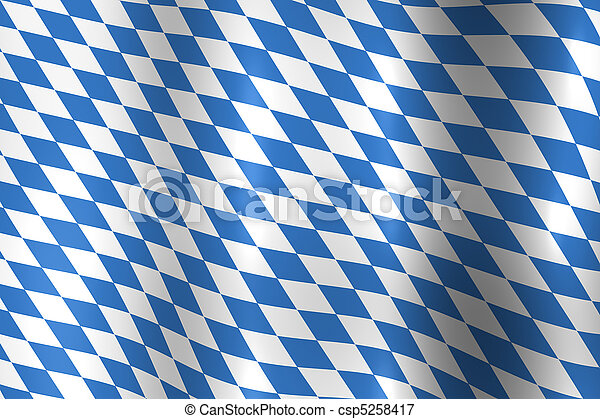 Bavaria Germany Flag - csp5258417